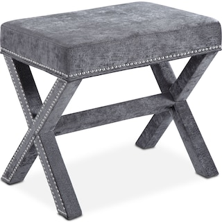 Lola Bench - Charcoal
