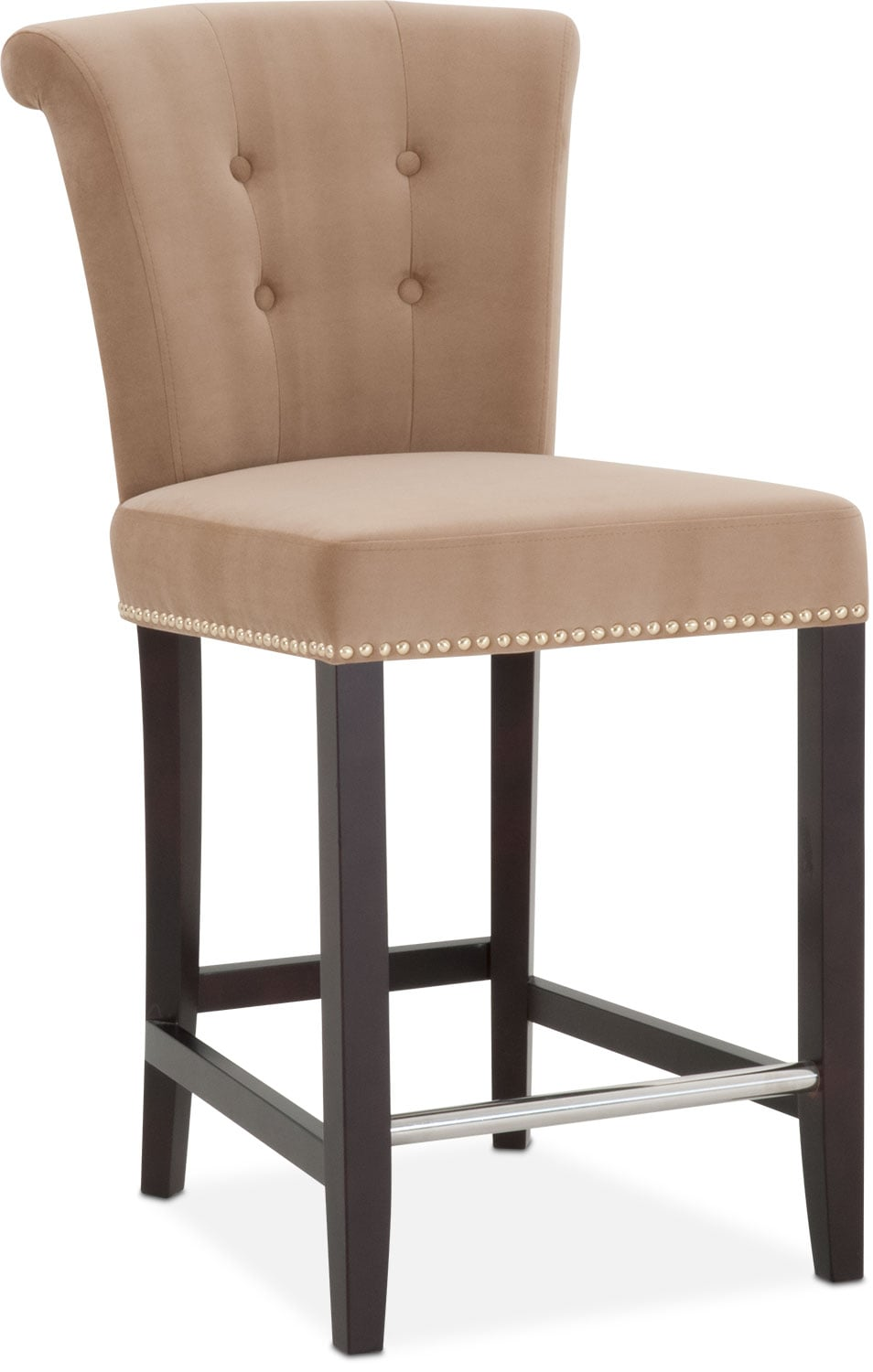 Calloway Counter Height Stool Camel Gold American