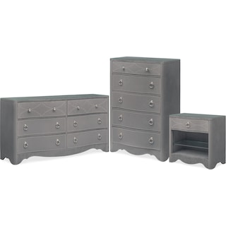 The Lourdes Collection - Gray