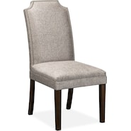 ariana side chair gray