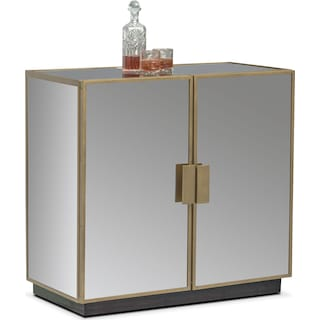 Miro Hospitality Cabinet - Brass