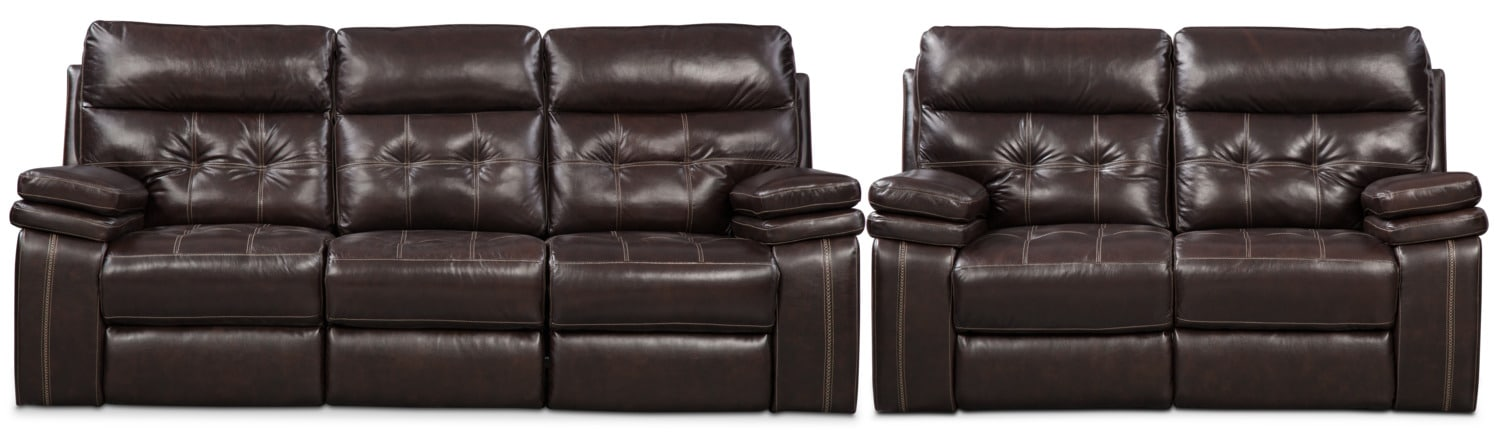 Real Authentic Leather Furniture American Signature Furniture