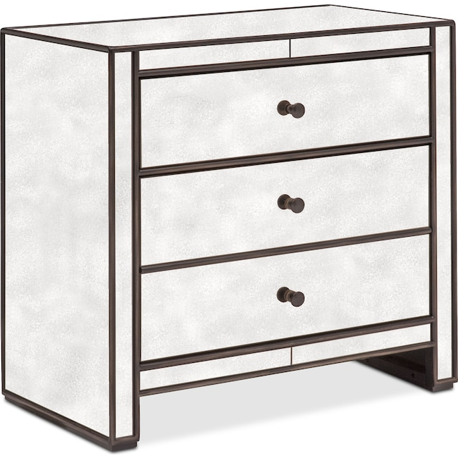 Bedroom Furniture - Domaine Nightstand - Mirror