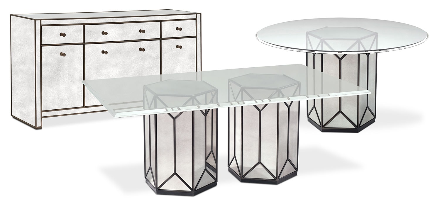 The Domaine Dining Collection - Mirror