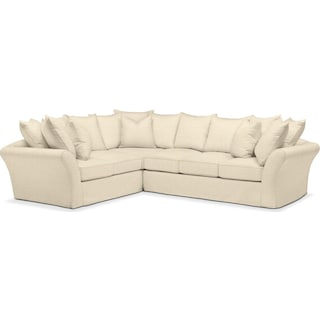 Allison 2 Pc. Sectional with Left Facing Sofa- Cumulus in Anders Cloud