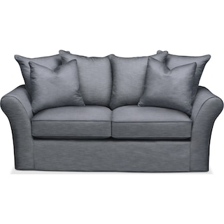 Allison Apartment Sofa- Cumulus in Abington TW Indigo
