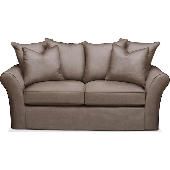 Living Room Furniture - Allison Apartment Sofa- Cumulus in Hugo Mocha