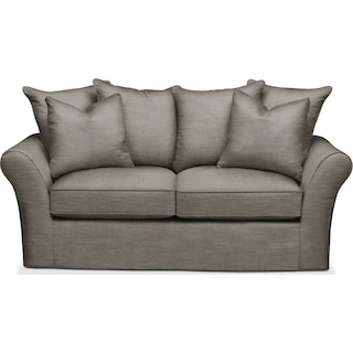 Allison Apartment Sofa- Cumulus in Victory Smoke