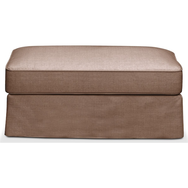Accent and Occasional Furniture - Allison Ottoman- Cumulus in Abington TW Antler