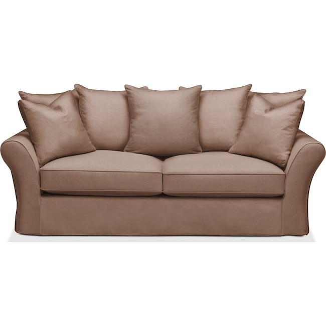 Living Room Furniture - Allison Sofa- Cumulus in Abington TW Antler