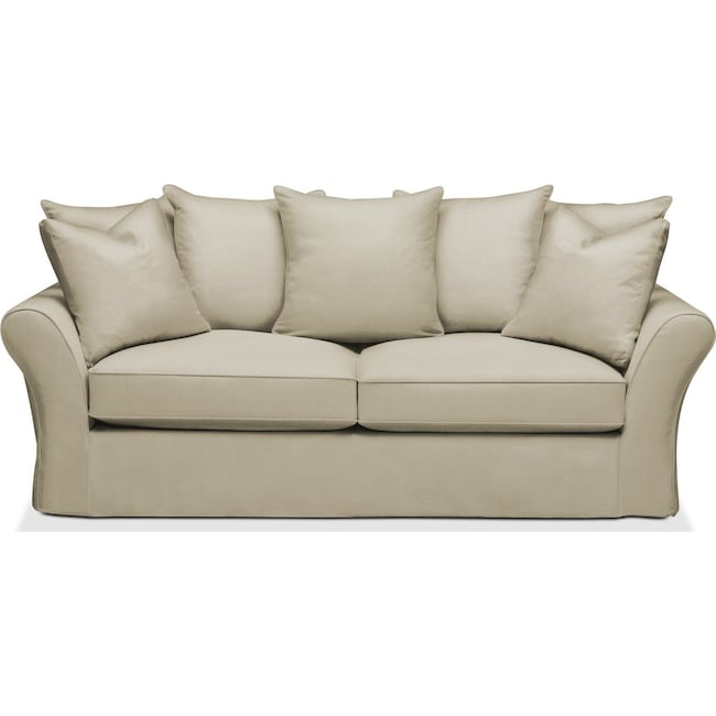 Living Room Furniture - Allison Sofa- Cumulus in Abington TW Barley