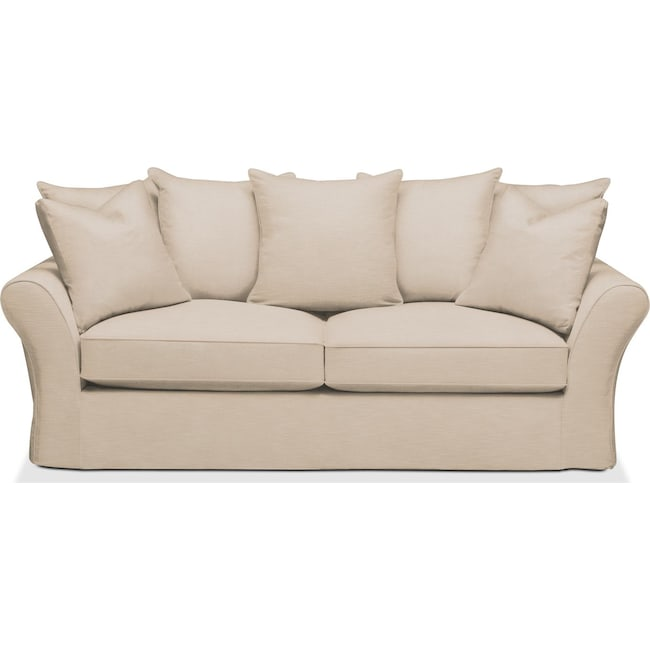 Living Room Furniture - Allison Sofa- Cumulus in Dudley Buff