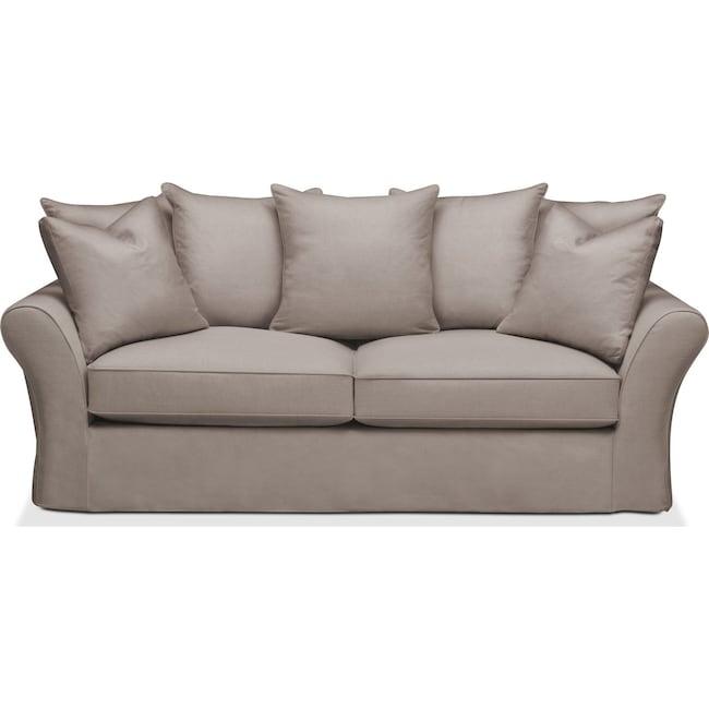 Living Room Furniture - Allison Sofa- Cumulus in Abington TW Fog