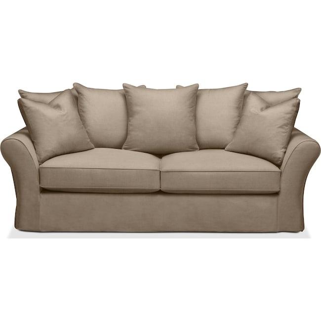 Living Room Furniture - Allison Sofa- Cumulus in Statley L Mondo