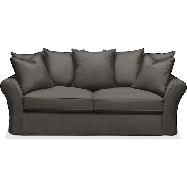 Living Room Furniture - Allison Sofa- Cumulus in Statley L Sterling