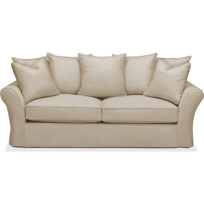 Living Room Furniture - Allison Sofa- Cumulus in Depalma Taupe
