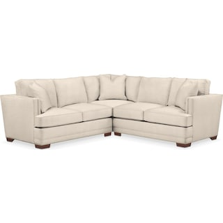 Arden 2 Pc. Sectional with Right Arm Facing Loveseat- Cumulus in Curious Pearl