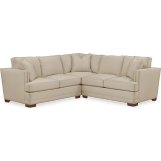 Arden 2 Pc. Sectional with Right Arm Facing Loveseat- Cumulus in Depalma Taupe