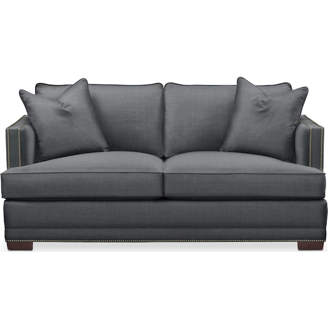 Living Room Furniture - Arden Apartment Sofa- Cumulus in Depalma Charcoal