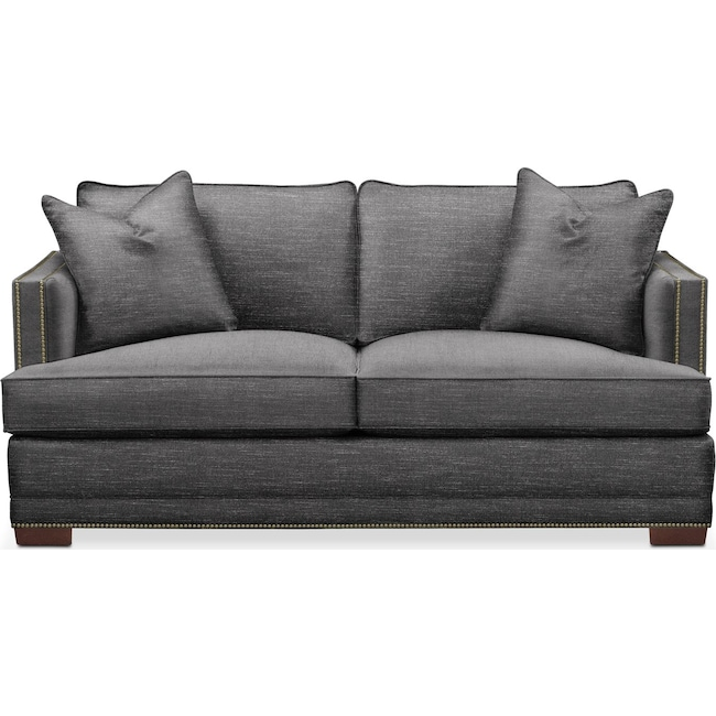 Living Room Furniture - Arden Apartment Sofa- Cumulus in Milford II Charcoal