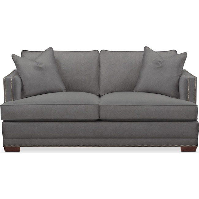 Living Room Furniture - Arden Apartment Sofa- Cumulus in Hugo Graphite