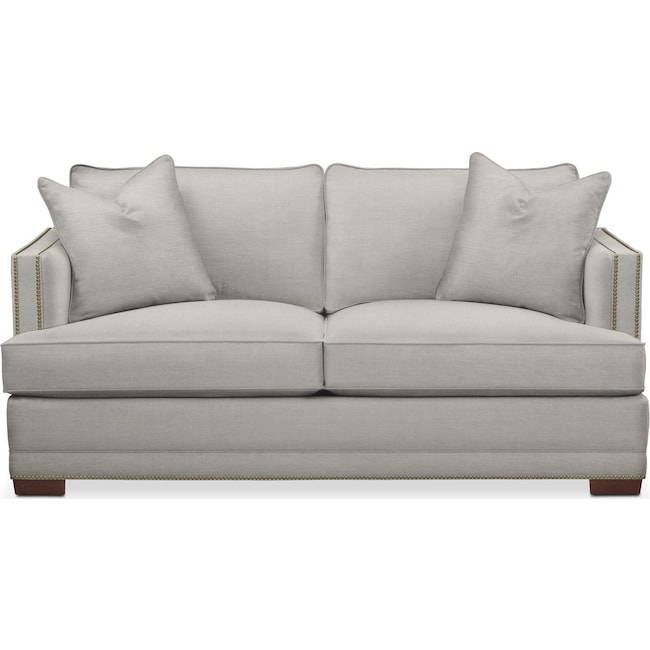 Living Room Furniture - Arden Apartment Sofa- Cumulus in Dudley Gray