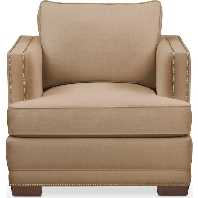 Living Room Furniture - Arden Chair- Cumulus in Hugo Camel