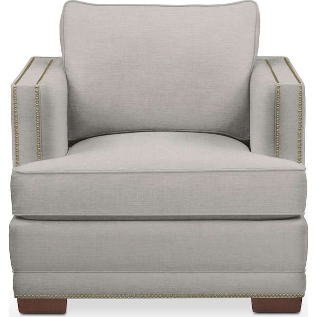 Living Room Furniture - Arden Chair- Cumulus in Dudley Gray