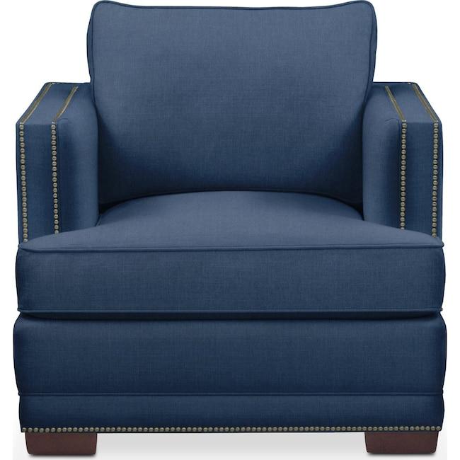 Living Room Furniture - Arden Chair- Cumulus in Hugo Indigo