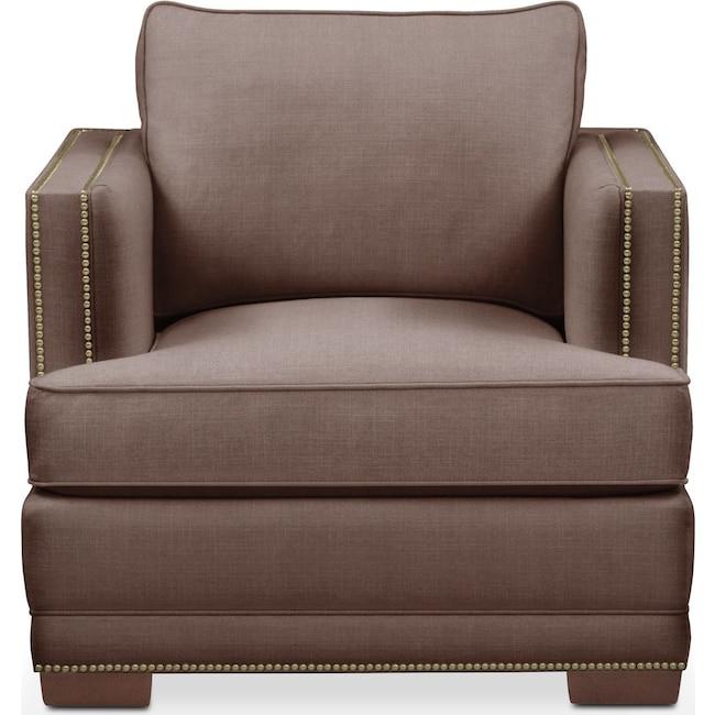 Living Room Furniture - Arden Chair- Cumulus in Oakley III Java