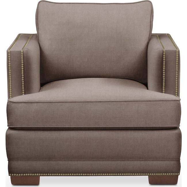 Living Room Furniture - Arden Chair- Cumulus in Hugo Mocha