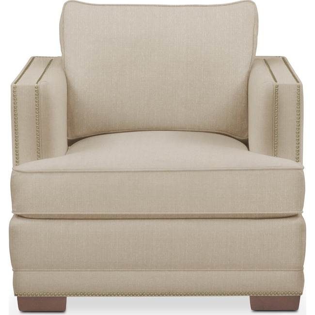 Living Room Furniture - Arden Chair- Cumulus in Depalma Taupe