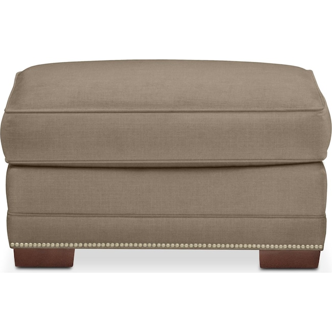 Living Room Furniture - Arden Ottoman- Cumulus in Statley L Mondo