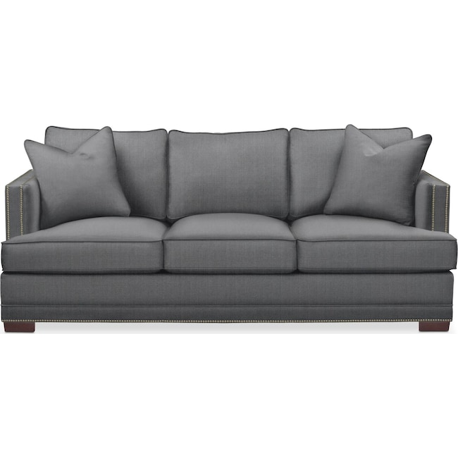 Living Room Furniture - Arden Sofa- Cumulus in Curious Charcoal