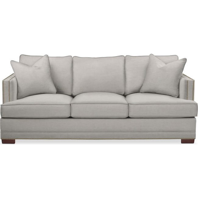Living Room Furniture - Arden Sofa- Cumulus in Dudley Gray