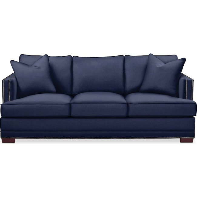 Living Room Furniture - Arden Sofa- Cumulus in Oakley III Ink