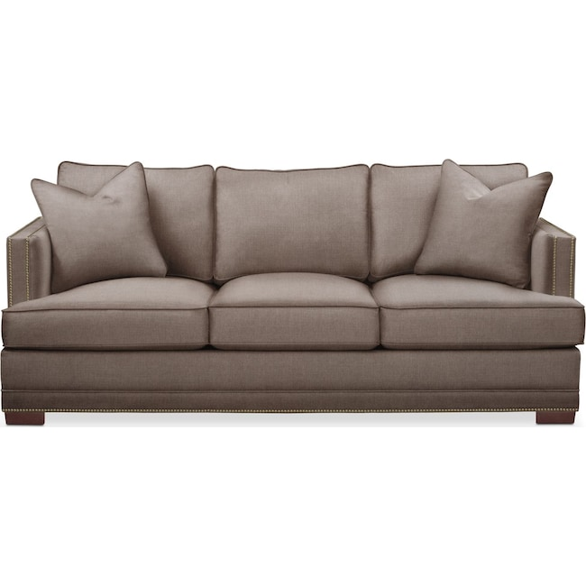 Living Room Furniture - Arden Sofa- Cumulus in Hugo Mocha