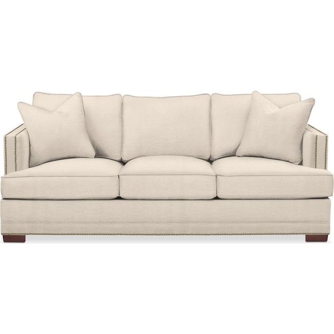 Living Room Furniture - Arden Sofa- Cumulus in Curious Pearl