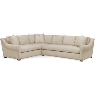 Asher 2 Pc. Sectional with Right Arm Facing Sofa- Cumulus in Depalma Taupe