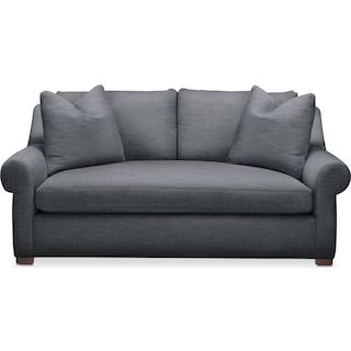 Asher Apartment Sofa- Cumulus in Depalma Charcoal