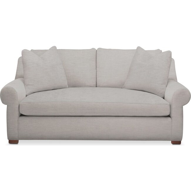 Living Room Furniture - Asher Apartment Sofa- Cumulus in Dudley Gray
