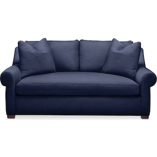 Asher Apartment Sofa- Cumulus in Oakley III Ink