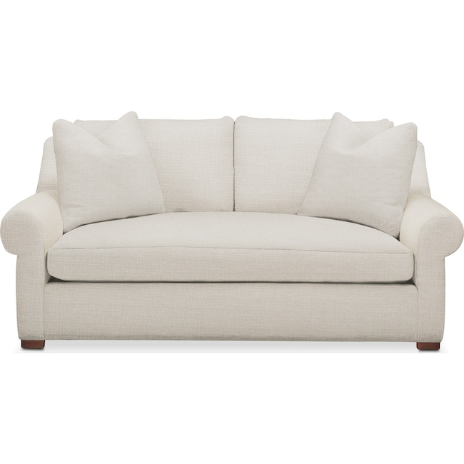Living Room Furniture - Asher Apartment Sofa- Cumulus in Victory Ivory