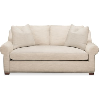 Asher Apartment Sofa- Cumulus in Anders Ivory