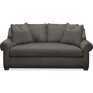 Asher Apartment Sofa- Cumulus in Statley L Sterling