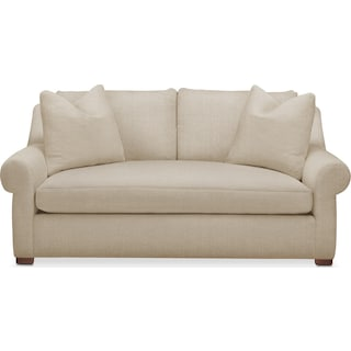 Asher Apartment Sofa- Cumulus in Depalma Taupe
