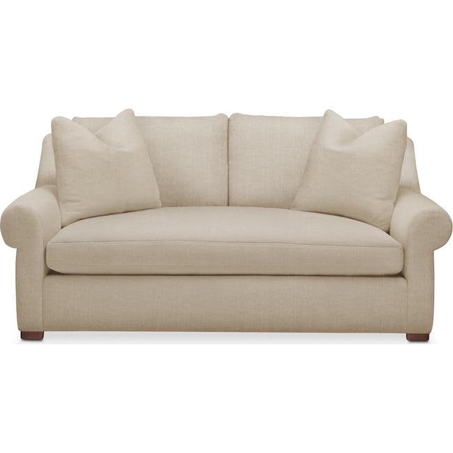 Living Room Furniture - Asher Apartment Sofa- Cumulus in Depalma Taupe