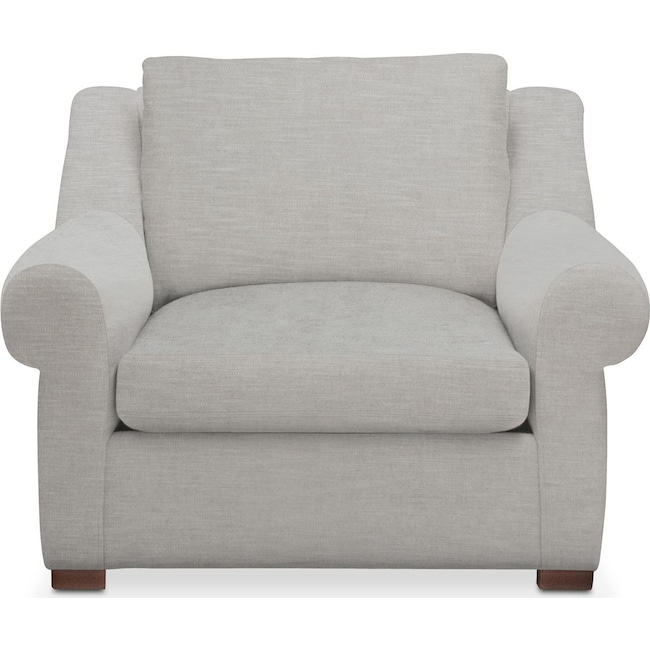 Living Room Furniture - Asher Chair- Cumulus in Dudley Gray