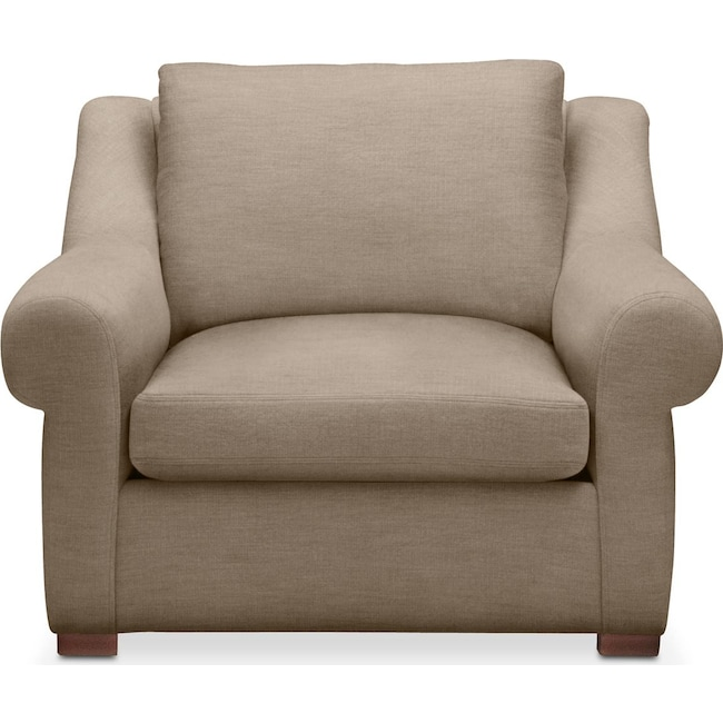 Living Room Furniture - Asher Chair- Cumulus in Statley L Mondo