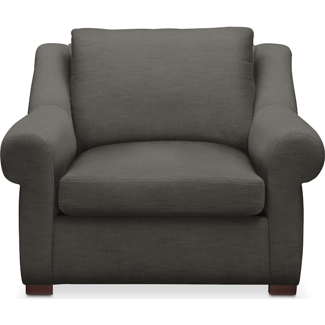 Living Room Furniture - Asher Chair- Cumulus in Statley L Sterling